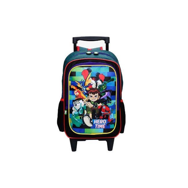 Disney Ben 10 Printed Trolley Bag with Two Wheels