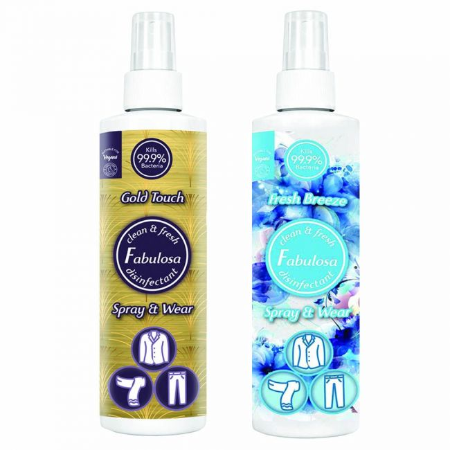 Fabulosa - Disinfectant Spray And Wear Gold Touch Fresh Breeze 250Ml