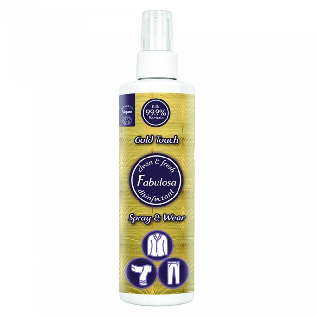 Fabulosa - Spray And Wear Gold Touch 250Ml