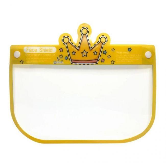 "Face Shield - Design "" Crown """