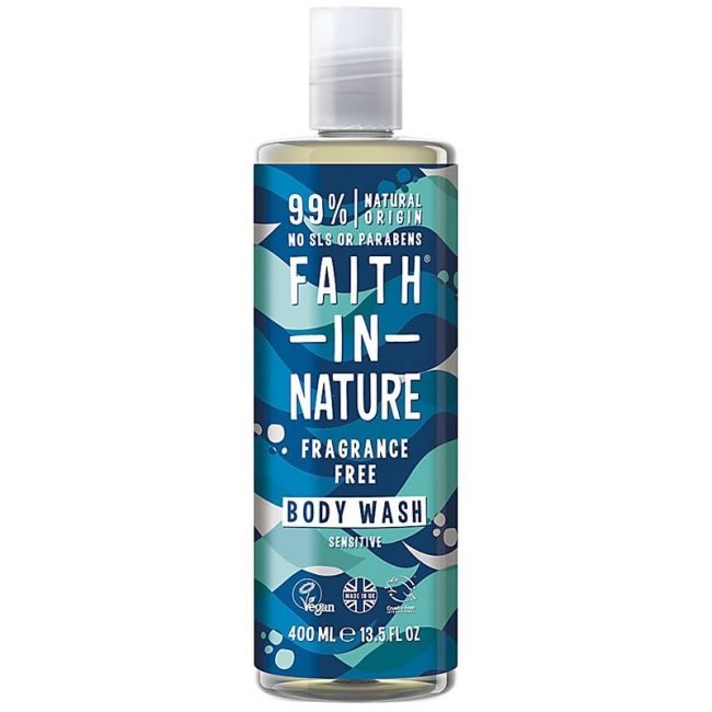 Faith In Nature  - Fragrancefree Body Wash 400ml