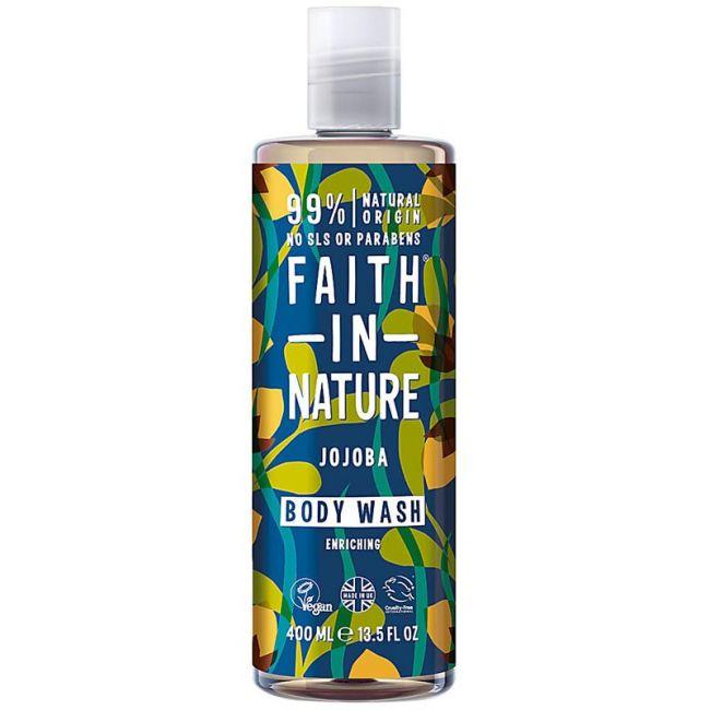 Faith In Nature  - Jojoba Body Wash 400ml