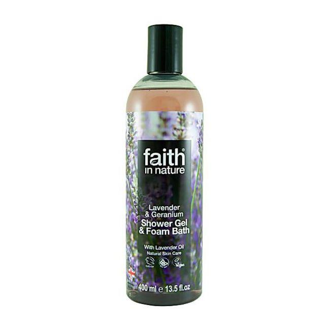 Faith in Nature - Lavender & Geranium Shower Gel 400ml