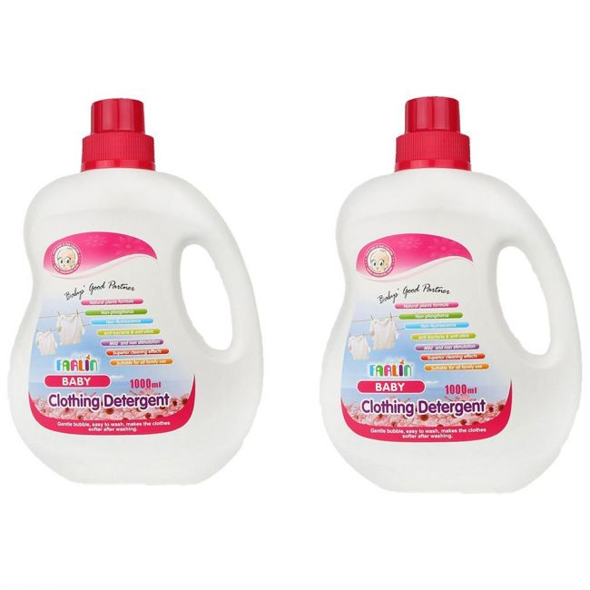 Farlin - Clothing Detergent 1000ml - Pack of 2