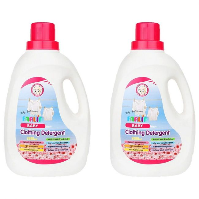 Farlin - Clothing Detergent 2000ml - Pack of 2