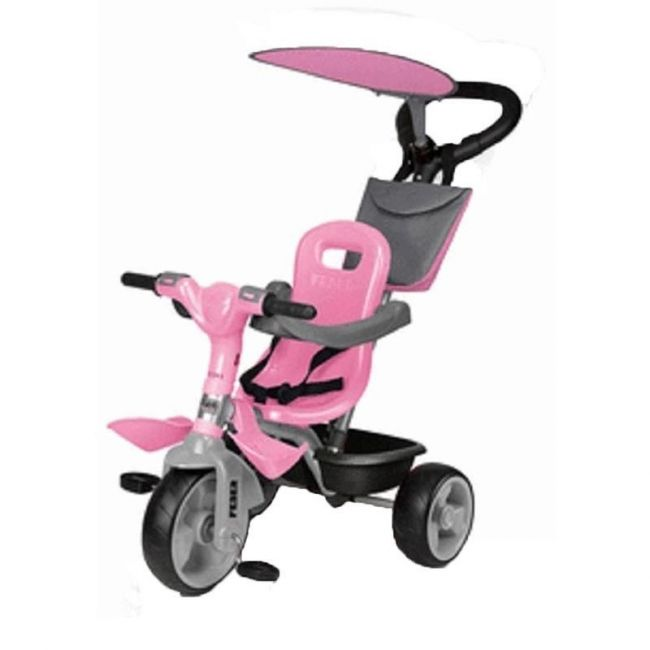 Feber Trike Baby Plus Music Pink