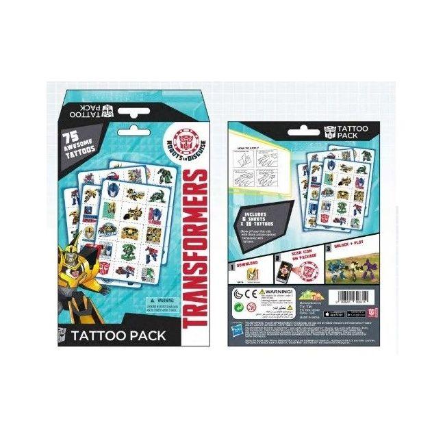Tiri Tiri Transformers Tattoo Pack