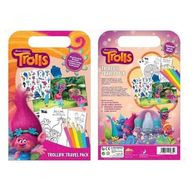 Tiri Tiri Trolls Travel Pack