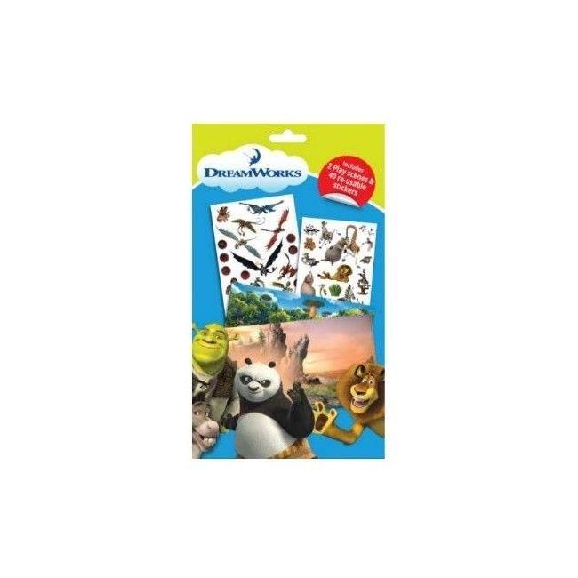 Tiri Tiri Dreamworks Sticker Pack