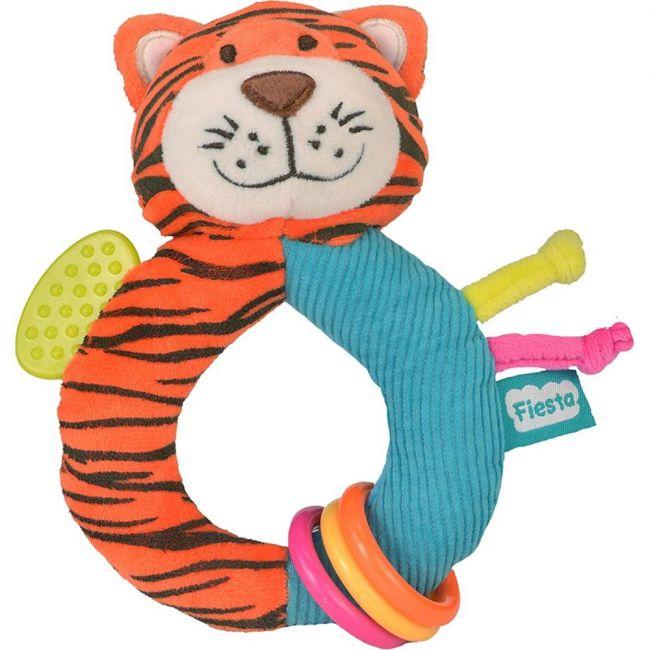 Fiesta Crafts Tiger Ringaling Soft Toy