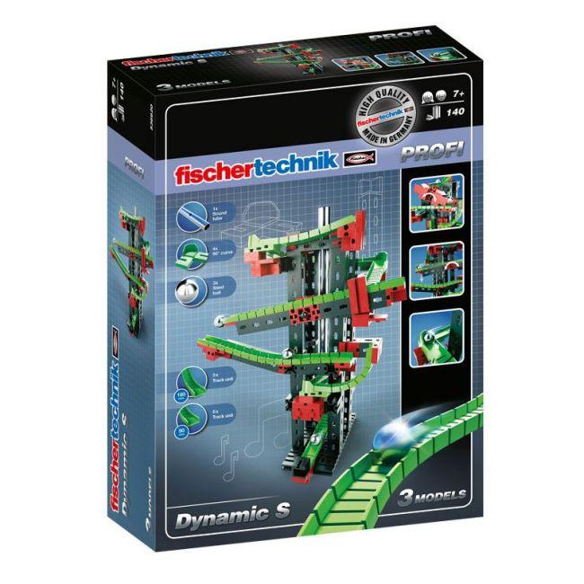 Fischer Technik Dynamic S Building Kit 140 Piece