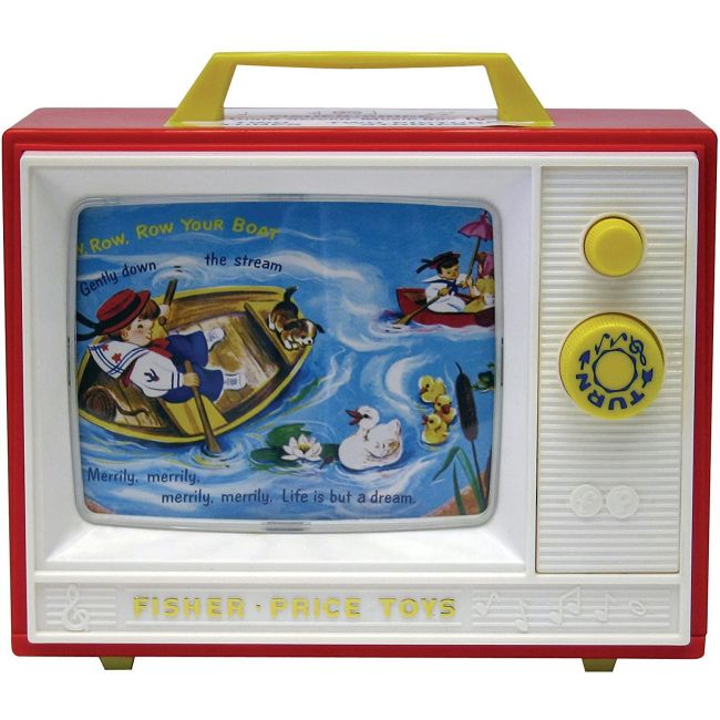 Fisher Price - Two Tone Television