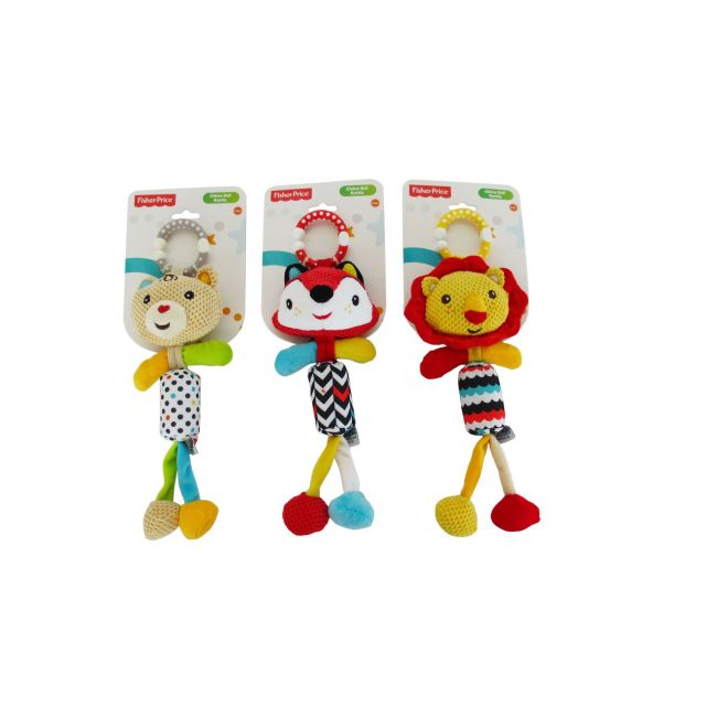 Fisher Price Chime Bell Rattle, Stroller Toy