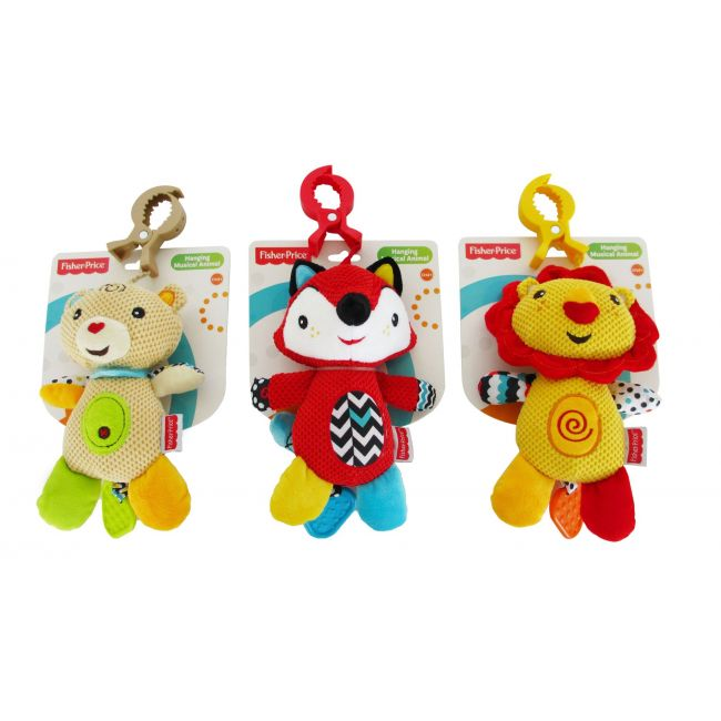 Fisher Price Hanging Musical Animal, Stroller Toy