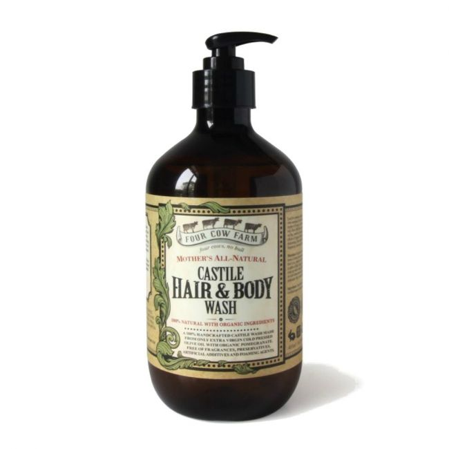 Four Cow Farm Mother's All-Natural Wash 485ml