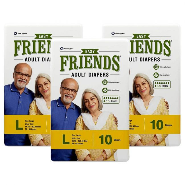 Friends - Adult Diapers Easy Large 30 s