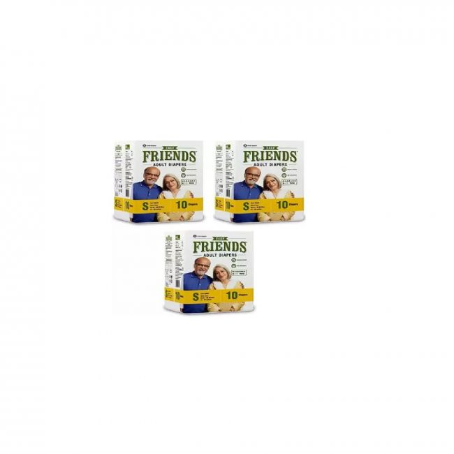 Friends - Adult Diapers Easy Small 10 pieces Pack Of 3