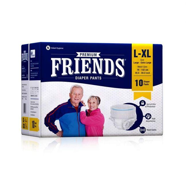 Friends - Adult Pants Large Extra Large 10 s