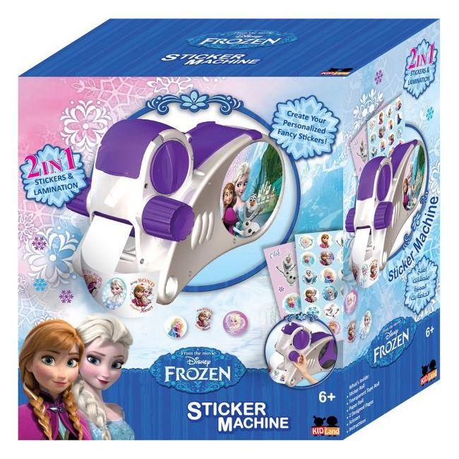 Frozen Sticker Machine Toy