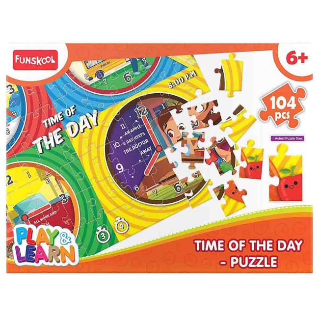 Funskool - Time Of The Day Puzzle