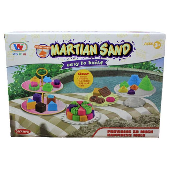 Generic - Martian Sand Easy To Build Set