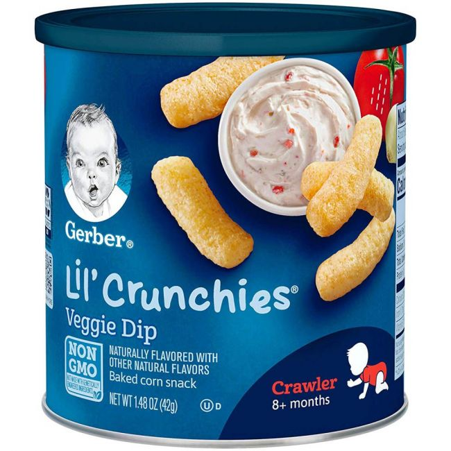 Gerber - Lil Crunchies Veggie Dip 42 Grams