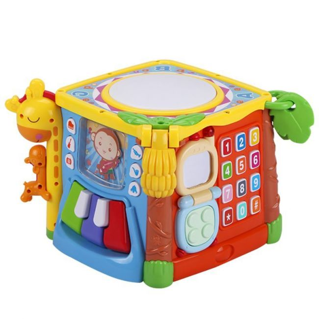 Goodway Baby Toy Multifunctional Hand Music Building Blocks