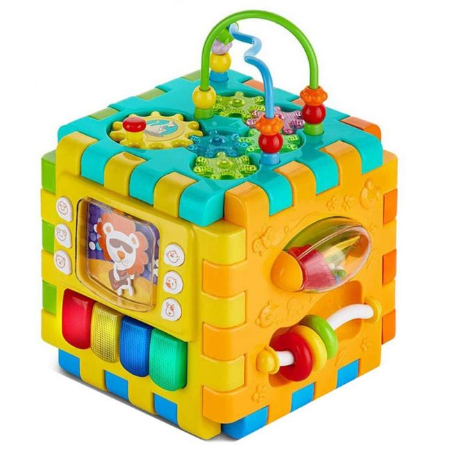 Goodway - Baby's Toy Play and Learn Activity Cube