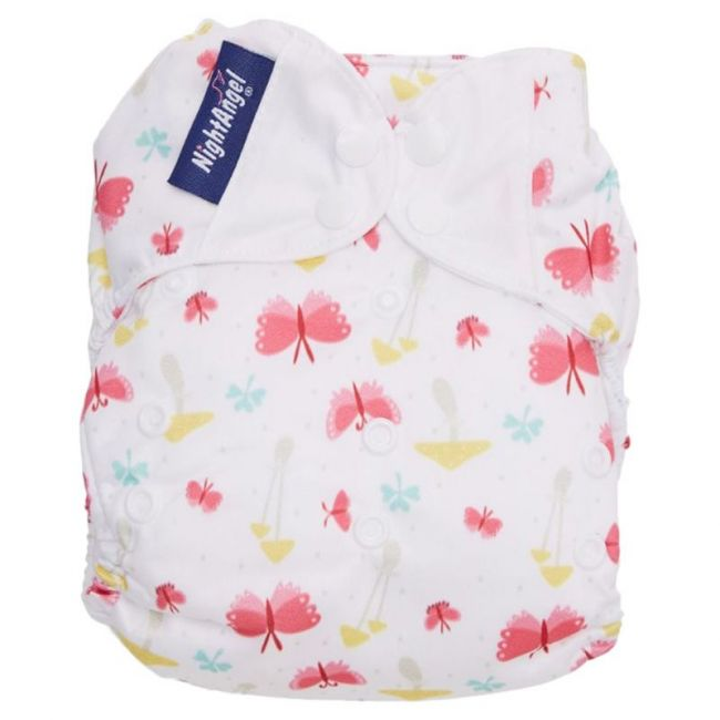 Night Angel Baby Reusable Cloth Diaper WT 2 Nappy Butterfly