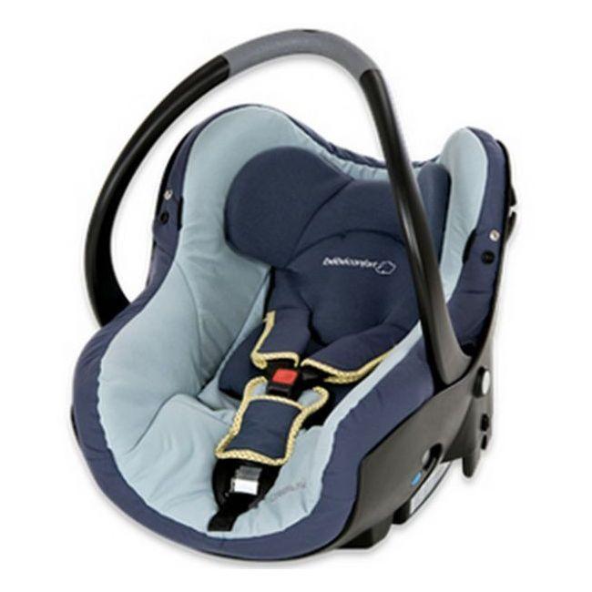 Bebe Confort Playful Grey Creatis Fix Car Seat