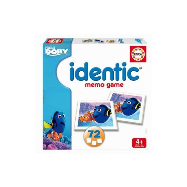 Educa Identic Finding Dory Memory Game Cards