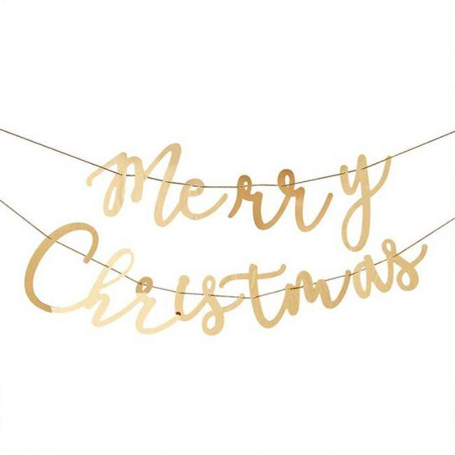 Ginger ray - Acrylic Merry Christmas Bunting