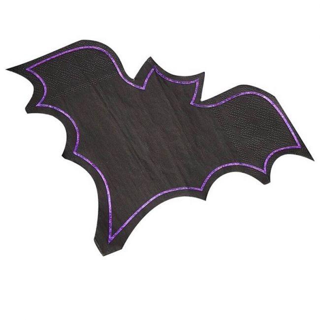 Ginger ray - Bat Shaped Foiled Napkin