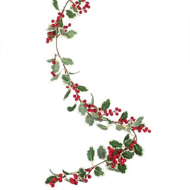 Ginger ray - Berries And Holly Foliage Garland