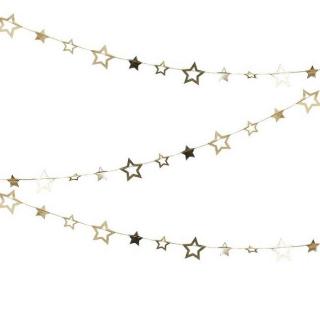 Ginger ray - Gold Star Garland