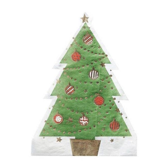 Ginger ray - Shaped Tree Napkin