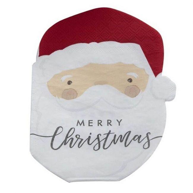 Ginger ray - Silly Santa Shaped Napkins