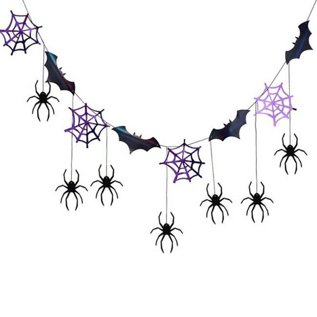 Ginger ray - Spider Web And Bat Bunting
