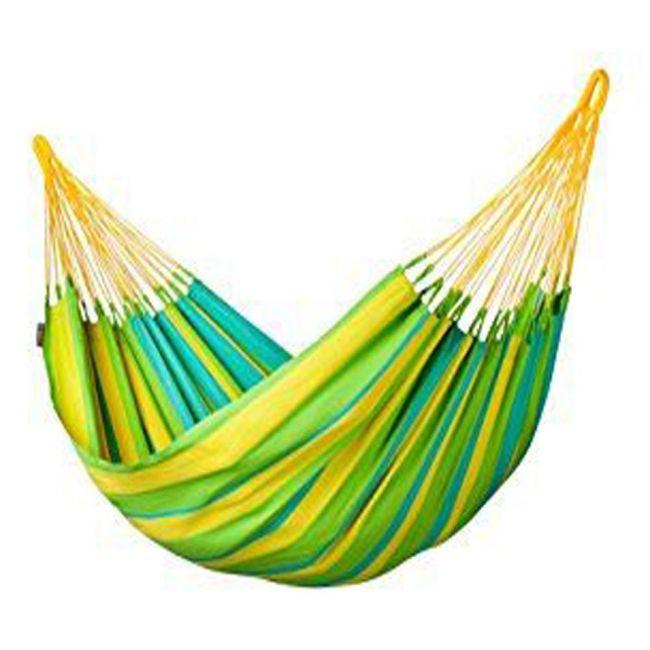 La Siesta - Single Hammock - Sonrisa Lime