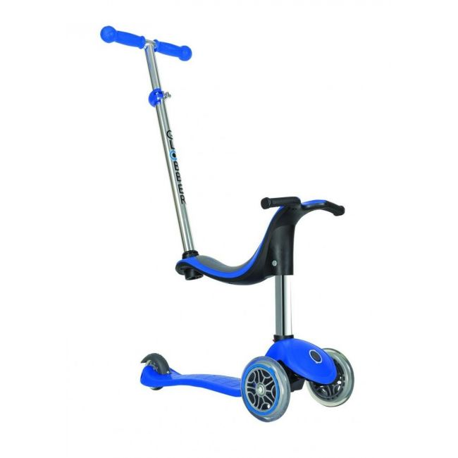 Globber Evo Navy Blue 4 in 1 Scooter