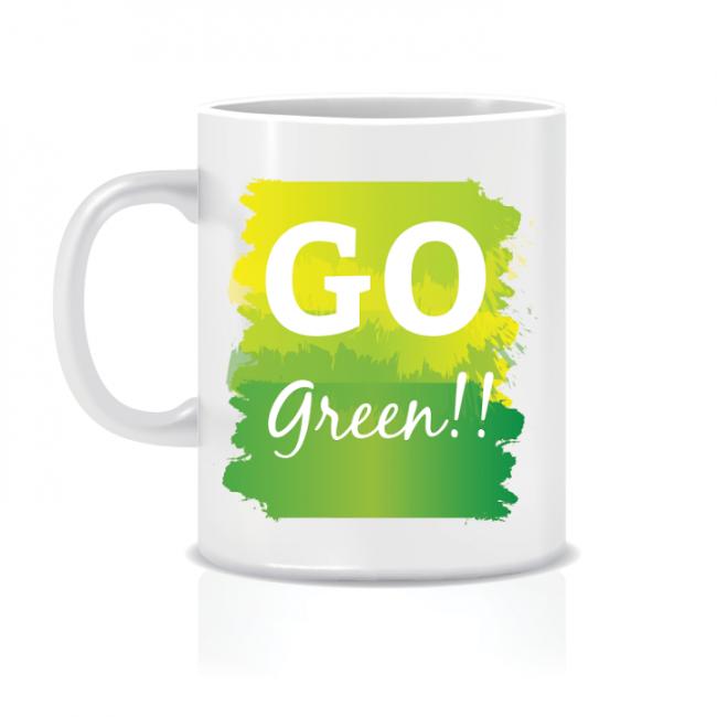 Twinkle Hands Go Green Mug