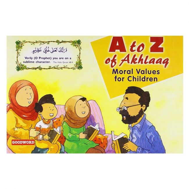 Goodword - A Z Akhlaaq Moral Value For Children