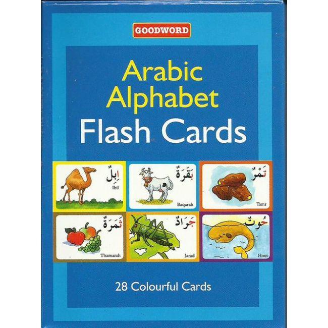 Goodword - Activity Flash Card Arabic Alphabet