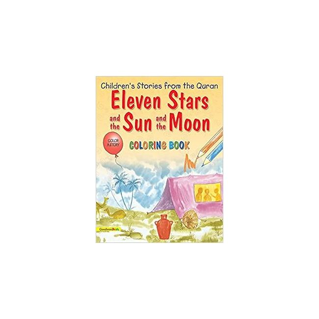 Goodword - Eleven Stars And The Sun Coloring Book