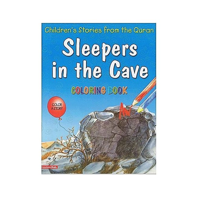 Goodword - Sleepers In The Cave Coloring Book
