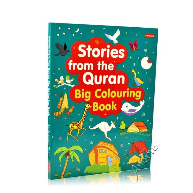 Goodword - Stories From The Quran Coloring Big Book
