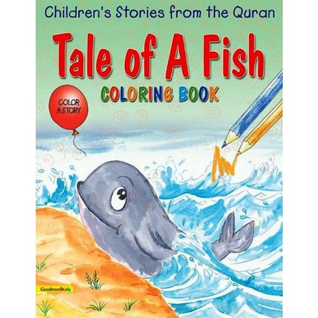 Goodword - Tale Of A Fish Coloring Book
