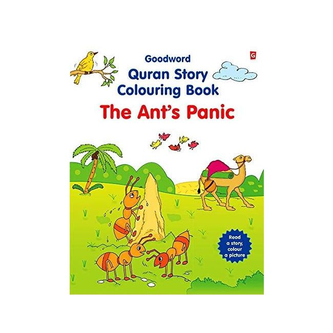 Goodword - The Ant S Panic Coloring Book