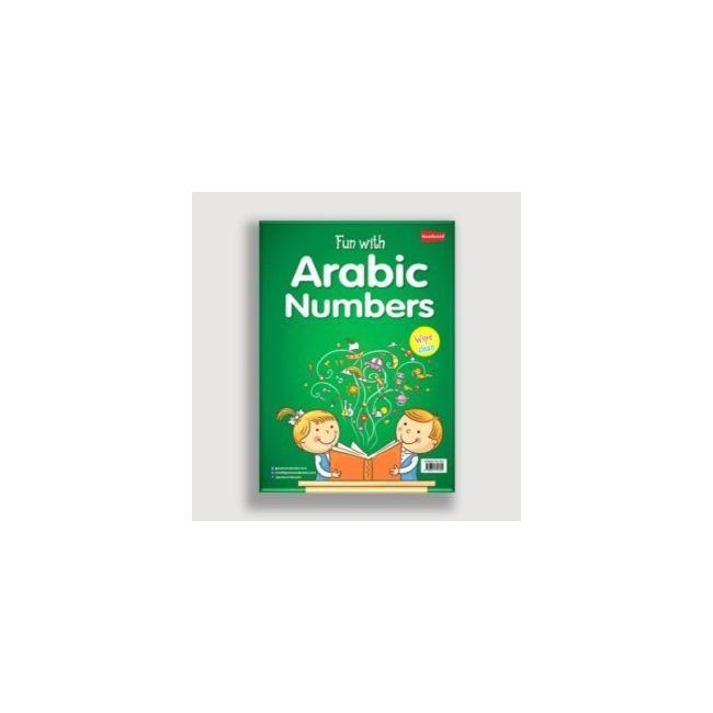 Goodword - Wipe Clean Fun With Arabic Numbers