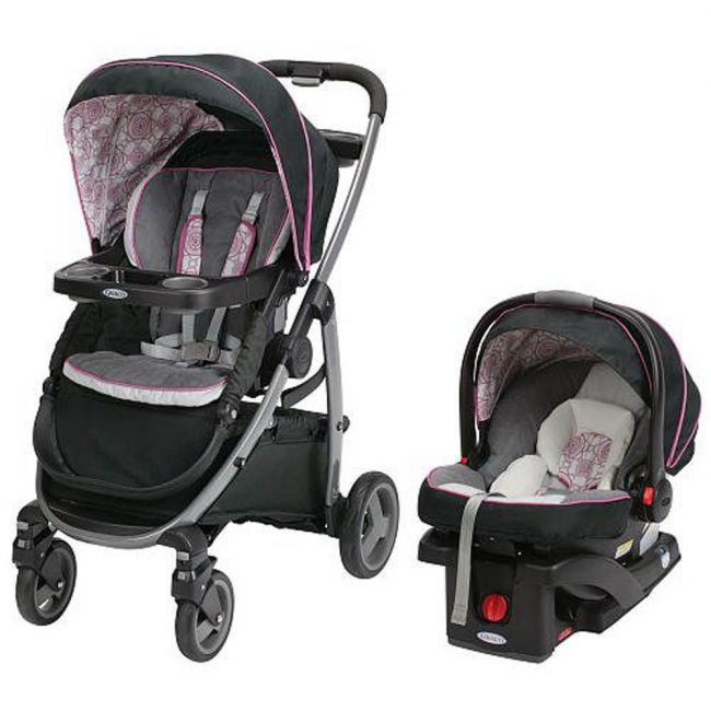 Graco - Modes Sport Click Connect Travel System Zola
